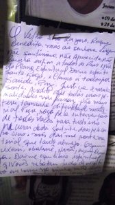 Carta ex-votiva