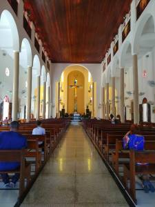 Igreja de Santa Rita de Cássia, em Santa Cruz, RGN